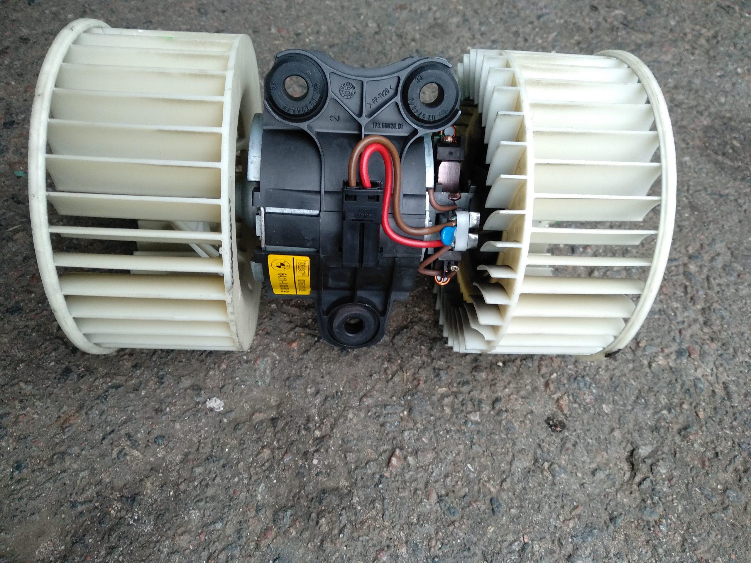 Двигатель отопителя (моторчик печки)