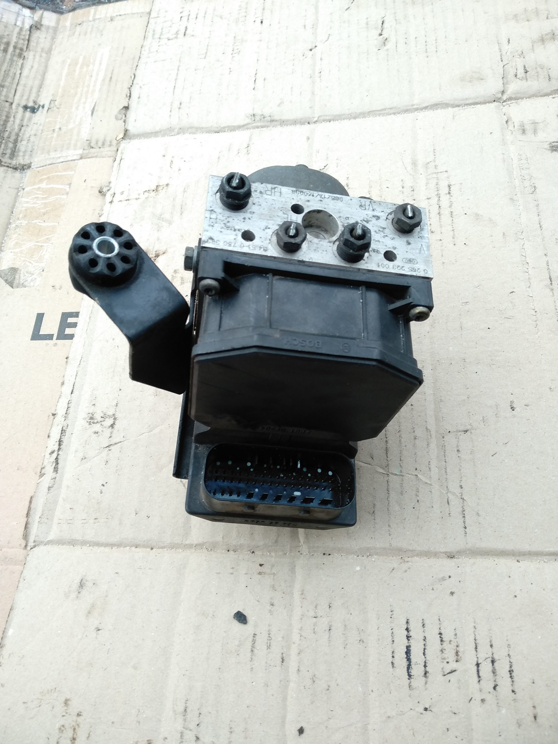 Блок АБС, насос (ABS, ESP, ASR)